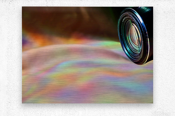Through the Lens  Metal print