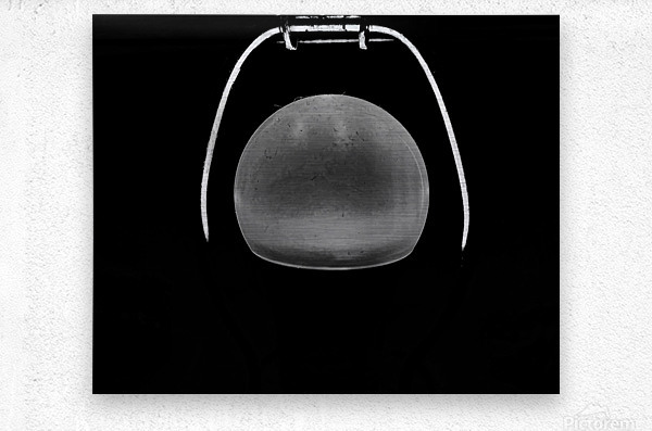 Ideas in Black and White  Metal print
