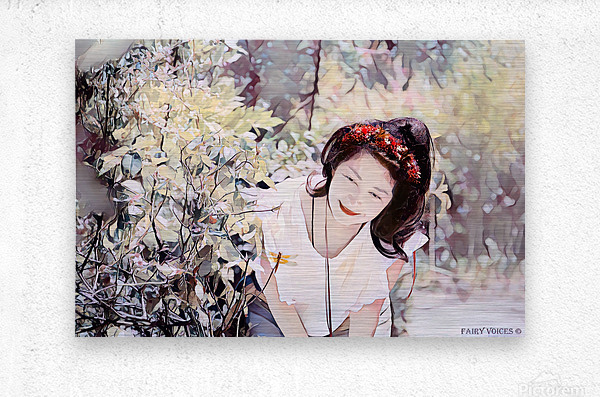 TELL ME MORE Art -Photo Collection  1-6  Metal print