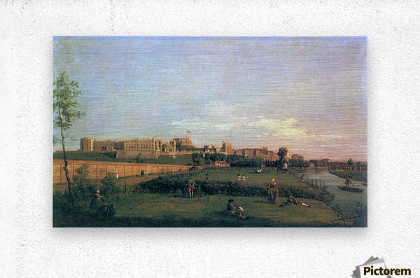 Windsor Castle by Canaletto  Metal print