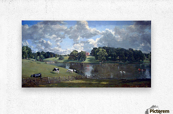 Wivenhoe Park by Constable  Metal print