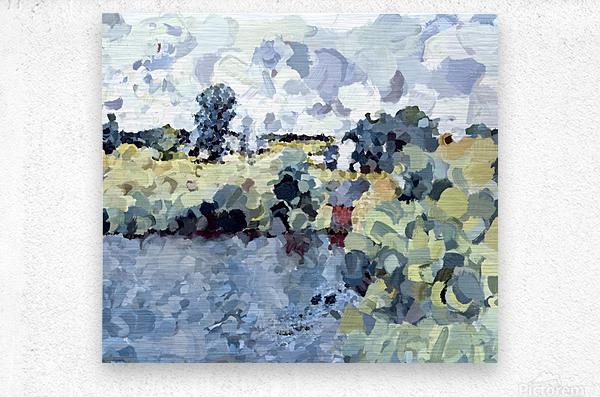 Winterthur Landscape  Metal print