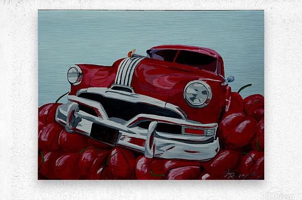 Cherry Ride  Metal print
