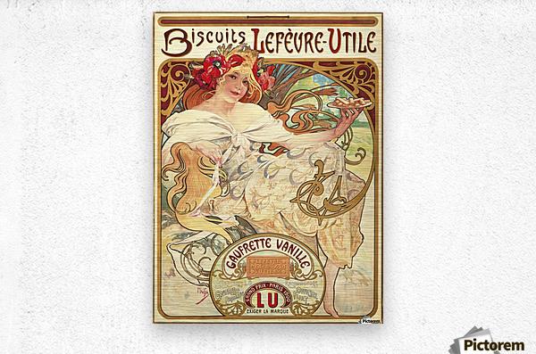 Biscuits Lefevre-Utile  Impression metal
