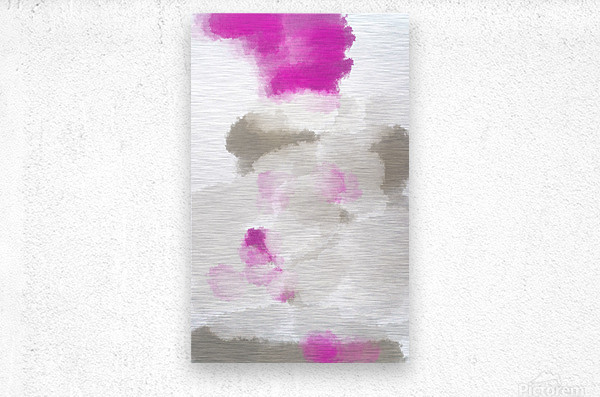 ABSTRACT PAINTING 03  Metal print