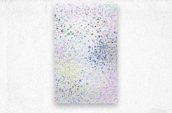 ABSTRACT PAINTING 40  Metal print