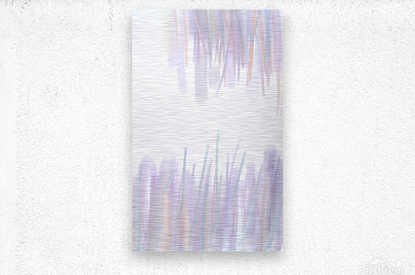 ABSTRACT PAINTING 70  Metal print