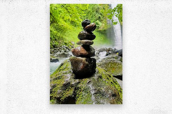 La Fortuna Waterfall   Metal print