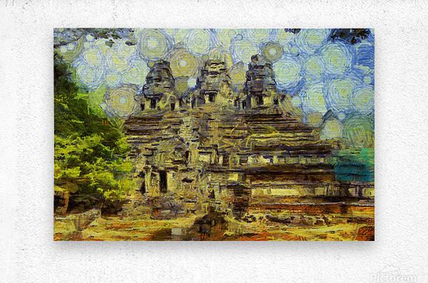 CAMBODIA 128 Angkor Wat  Siem Reap VincentHD  Metal print
