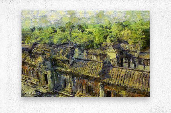 CAMBODIA 132 Angkor Wat  Siem Reap VincentHD  Metal print