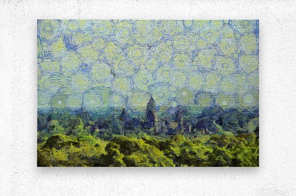 CAMBODIA 127 Angkor Wat  Siem Reap VincentHD  Metal print