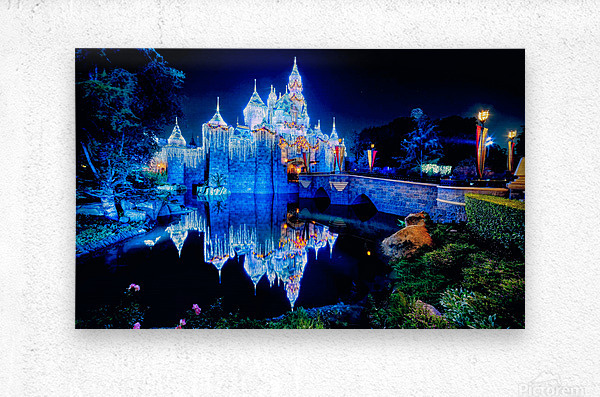 Disney Magic  Metal print