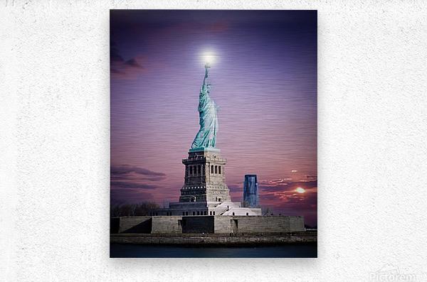 Liberty1  Metal print