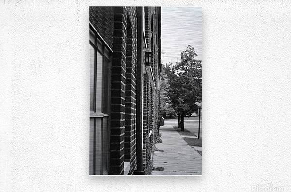 Quiet Street  Metal print