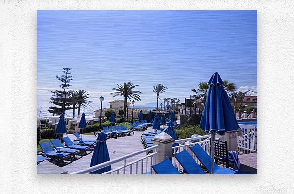Costa del Sol Andalusia Spain 3 of 4  Metal print
