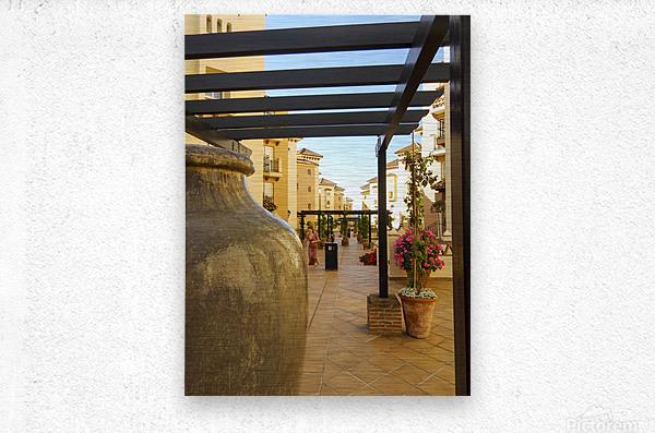 Costa del Sol Andalusia Spain 1 of 4  Metal print