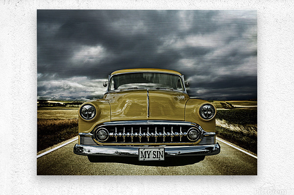 1953 Chevrolet  Metal print