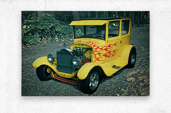 1927 Ford Model-T  Metal print