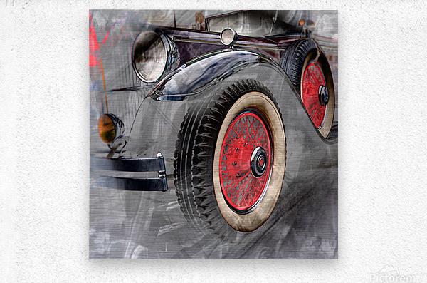 1930 Packard  Metal print