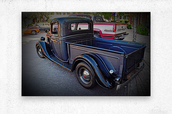 1935 Ford Pickup  Metal print
