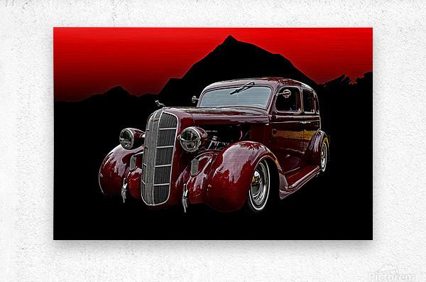 1936 Dodge 4-Door Sedan  Metal print