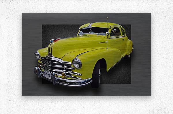 1948 Pontiac Silver Streak  Metal print