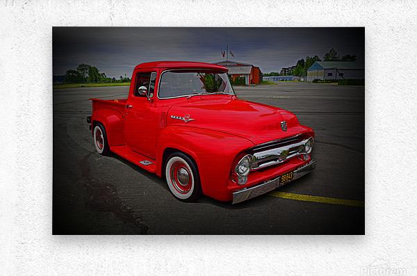 1953 Ford Pickup  Metal print