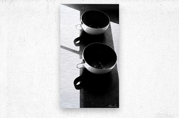 Un Amour Consomme - A Consumed Love  variation 2 NB  Metal print