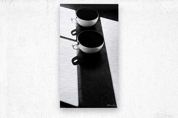 Un Amour Consomme - A Consumed Love  variation 1 NB  Metal print