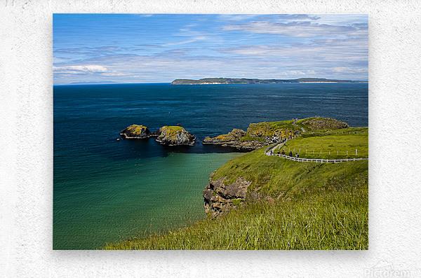 Northern Ireland Coast View  Metal print
