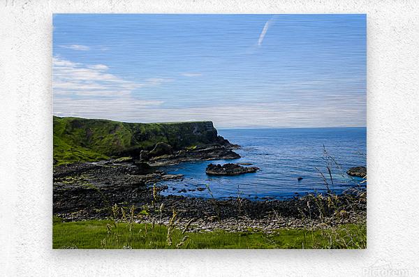 Northern Ireland Coast View II  Metal print