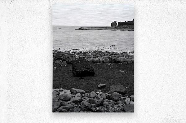 Sea and Rocks  Metal print