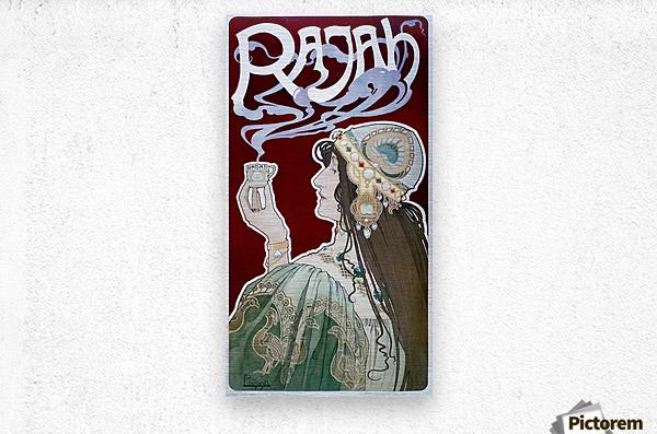 Rajah by Henri Privat-Livemont  Metal print