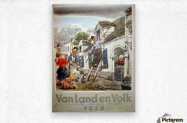VonLandenVolk  Metal print