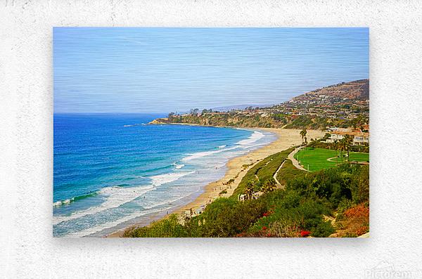 Beautiful Coastal View Newport Beach California 1 of 2  Metal print