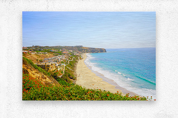 Beautiful Coastal View Newport Beach California 2 of 2  Metal print