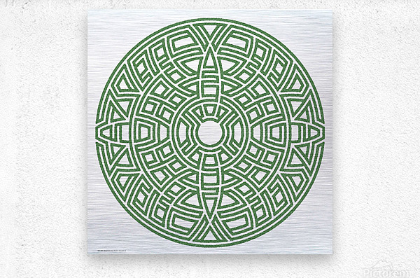 Maze 4801  Metal print