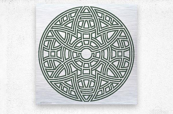 Maze 4810  Metal print