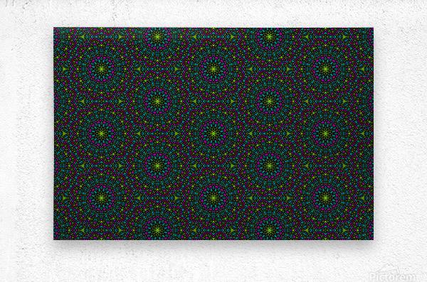 Mosaic 11  Metal print