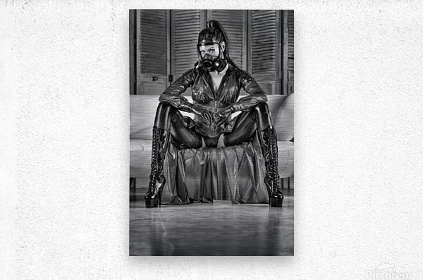 Constance Chaos Goddess  Metal print