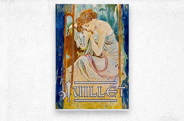 Juillet July  Metal print