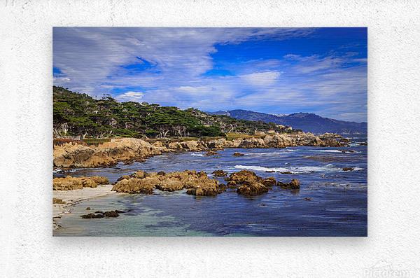 Carmel Coastline  Metal print
