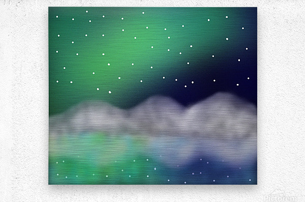 Northern Light 1  Metal print