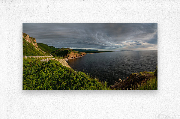 Cabot Trail View towards Cheticamp  Metal print