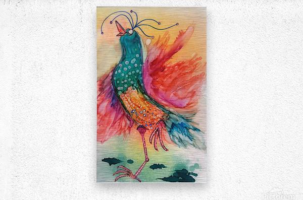 Chicken Dance  Metal print