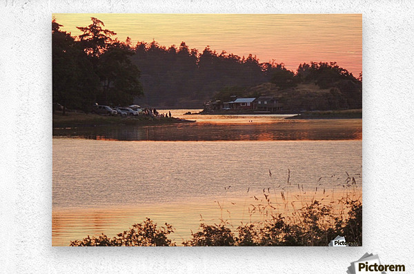 End of a Summer's Day  Metal print