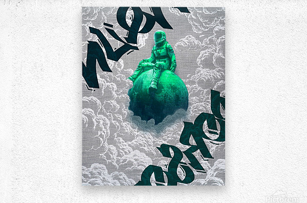 Parallax   Metal print
