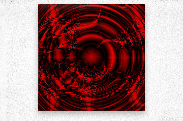 RedCell  Metal print