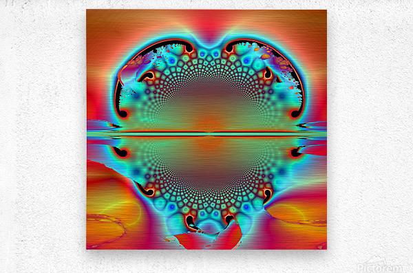 Sun Ryse  Metal print