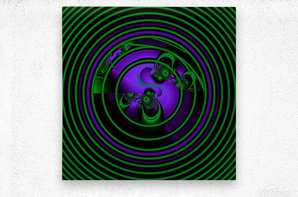 SETI Transmission  Metal print